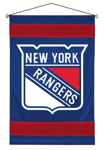Sports Coverage NHL New York Rangers Sideline Wall Hanging - Item Sports Wall Stickers