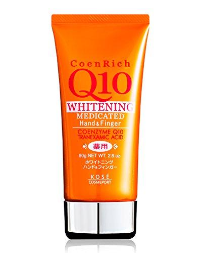 Kose Nail - KOSE Coenrich Q10 White Hand and Finger Cream