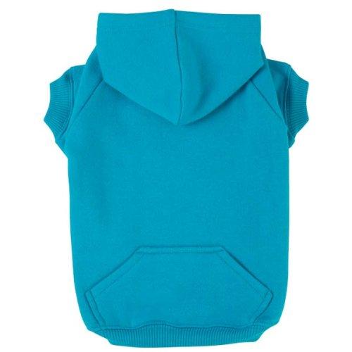 Dog Hooded Sweatshirt – Blue – Medium, My Pet Supplies