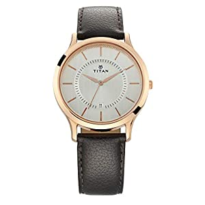 Titan Gents Karishma Analog Silver Dial Men's Watch-NM1825WL01 / NL1825WL01