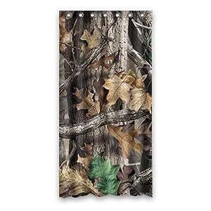 Custom Realtree Shower Curtain Polyester 90cm x 183cm