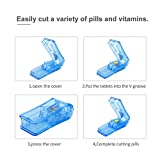 Pill Splitter Cutter for Small and Large Pills in