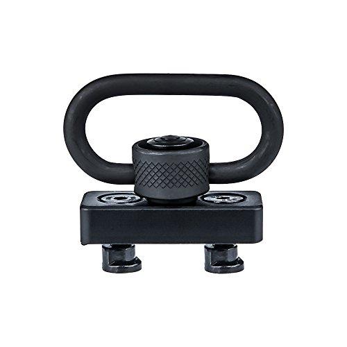 Omamba Keymod Sling Mount, Push Button QD Sling Swivel Adaptor 1.25 for Keymod Rail Handguard by Omamba
