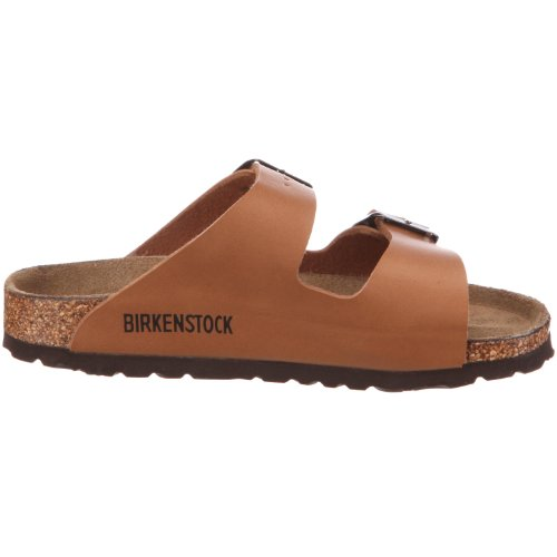 Birkenstock Arizona Birko-Flor - Sandalias infantil unisex marrón