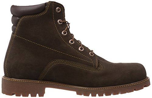 Marrone Waterproof Uomo in Brown Timberland Alburn 6 Stivali Nubuck R6xFY