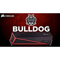 Corsair Bulldog Liquid Cooled Intel Core i7-7700K 4.2GHz/Nvidia GeForce GTX 1080 TI 11GB GDDR5X/4TB 7200RPM SATA 6Gb/s + 1TB Solid State Drive/32GB DDR4 SDRAM/Windows 10 Mini Gaming Desktop