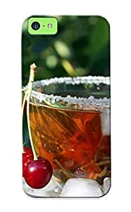 meilinF0008a5b243967 Awesome Cup Cherry Ice Tea Macro Flip Case With Fashion Design For iphone 4/4s As New Year's Day's GiftmeilinF000