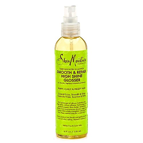 Price comparison product image SheaMoisture Tahitian Noni & Monoi Oil Smooth & Repair High Shine Glosser, 4 Ounce