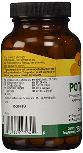 Country Life Potassium 99 Mg, 250 Tablets