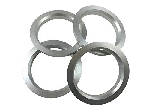 [해외]4 개 - 허브 중심 링 - 73.1mm ~ 60.1mm ID - 알루미늄 허브 링/4 Pieces - Hub Centric Rings - 73.1mm OD to 60.1mm ID - Aluminum Hubrings