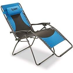 Guide Gear Oversized 500 lb. Zero Gravity Chair, Blue