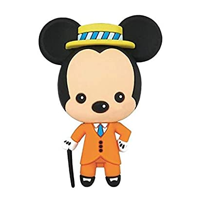 Mickey Mouse - Llavero 3D 8 cm Disney Serie 18 Monogram #3 ...