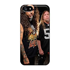 Bumper Hard Phone Cover For Iphone 5/5s With Support Your Personal Customized Fashion Edguy Band Pattern AlainTanielian