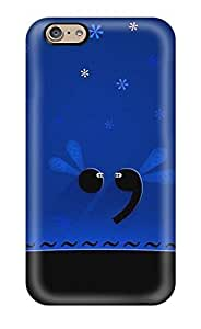 For Iphone 6 Tpu Phone Case Cover(perios And Comma Fireflies)