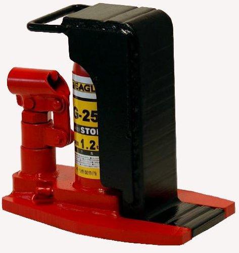 イーグル 爪付油圧ジャッキ 1.2t G25 B003O2H0A4