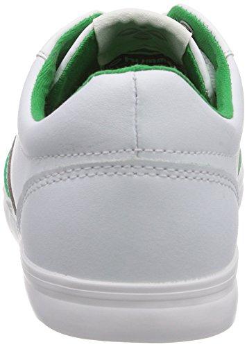 Deuce Hummel Hummel Court Sneaker Adulto basse Fern Wei Bianco Sport White 9165 Green Unisex UwqwS