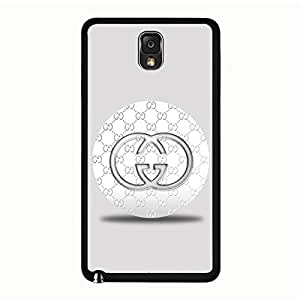 Samsung Galaxy Note 3 N9005 Case Plastic Cover, Fabulous Modish Gucci Logo Phone Case Snap on Samsung Galaxy Note 3 N9005 Luxury Gucci Design Cover