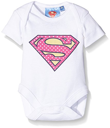 Twins Baby-Mädchen Body Supergirl, Weiß (Weiss 4013), 62