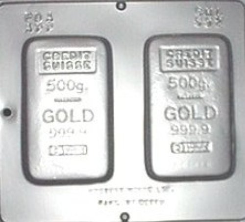 Gold Bar Chocolate Candy Mold 592