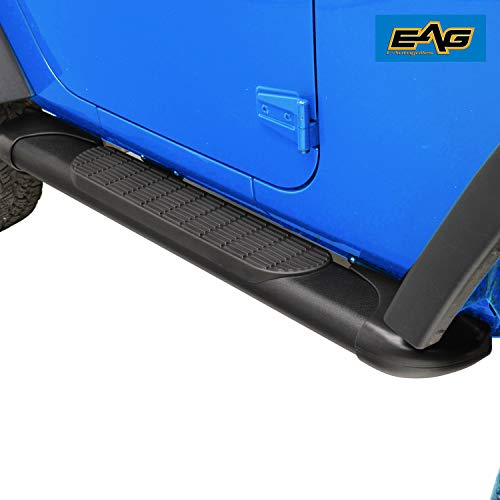EAG Oval Running Board | Nerf Bars | Side Steps | Side Bar 54