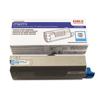 44318603 Toner, 11,500 Page-Yield, Cyan by OKIDATA (Catalog Category: Computer/Supplies & Data Storage / Printer Supplies/Accessories) by OKI