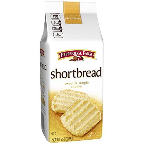 (Pepperidge Farm, Cookies, Shortbread, 5.5 oz, Bag, 24-count)