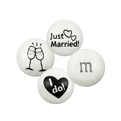 M&Ms Just Married - I Do - Blend 2lb bag -