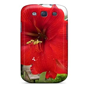 Galaxy S3 Case Cover Amaryllis Case - Eco-friendly Packaging