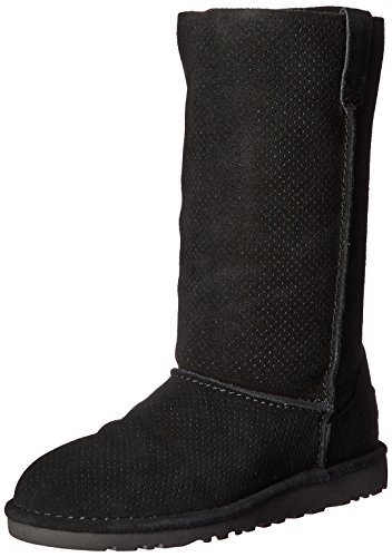 Black Boot Classic Winter Perforated Women's Tall UGG Unlined Hqw8Fn1