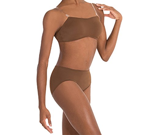 Body Wrappers Adult Padded Convertible Bra,274DNUXS,Dark Nude,XS from Body Wrappers
