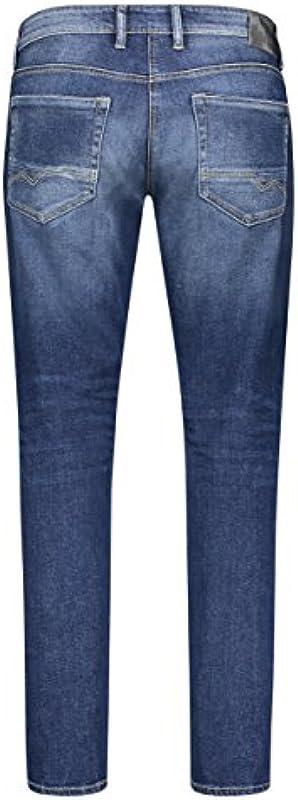 MAC męskie dżinsy Arne Pipe 0517 Heavy Authentic Used H663: Odzież