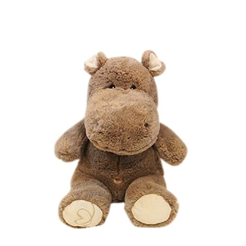 Remeehi Grey Stuffed Animal Hippo Cute Hippo Toy 12