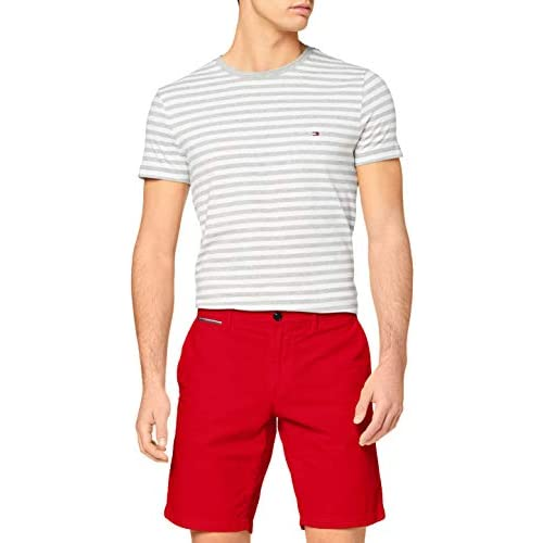 chollos oferta descuentos barato Tommy Hilfiger Brooklyn Short Light Twill Vaqueros Primary Red 28W 30L para Hombre