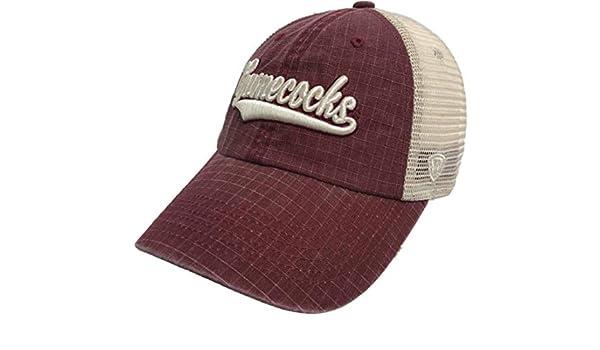 best loved e080e 89376 Amazon.com   Top of the World South Carolina Gamecocks Tow Garnet Raggs  Mesh Script Snapback Slouch Hat Cap   Sports   Outdoors