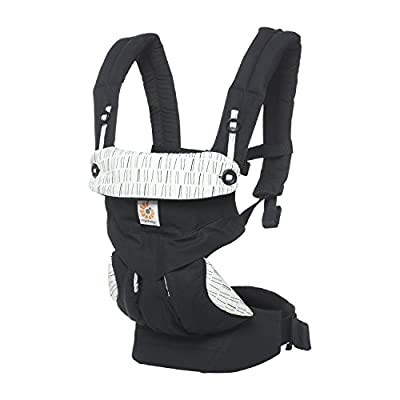 Ergobaby 360 All Carry Positions Award-Winning Ergonomic Baby Carrier (Downtown)