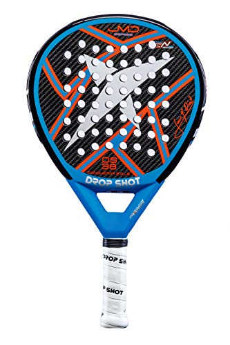 DROP SHOT Azul Pala Conqueror 3.0, Adultos Unisex, 3: Amazon ...