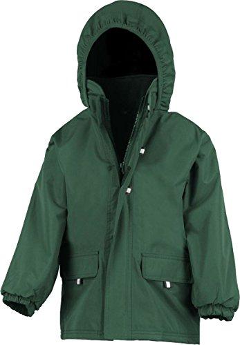 Nueva Resultado Rugged Stuff Junior largas con forro abrigo con cremallera frontal chaqueta XS-3X L azul marino