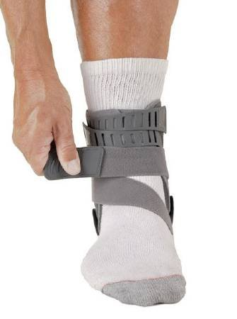 Alimed Ankle Brace Rebound Small Strap Closure Men's Size 6 to 7-1/2 / Women's Size 7-1/2 to 9 Right Foot