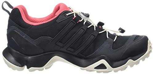adidasTerrex Swift R GTX - zapatillas de trekking y senderismo de media caña Mujer Negro (Griosc / Negbas / Rubsup)