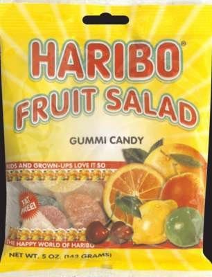 Gummi Fruit Salad (Pack of 12) - Pack Of 12 by Haribo