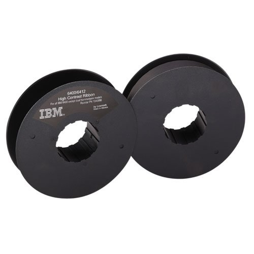 1040998 OEM Ribbon, 30 mL Yield, Black, Black