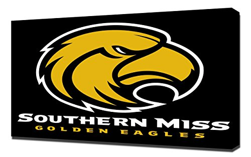 (Southern Mississippi Golden Eagles 1 - Canvas Art Print)