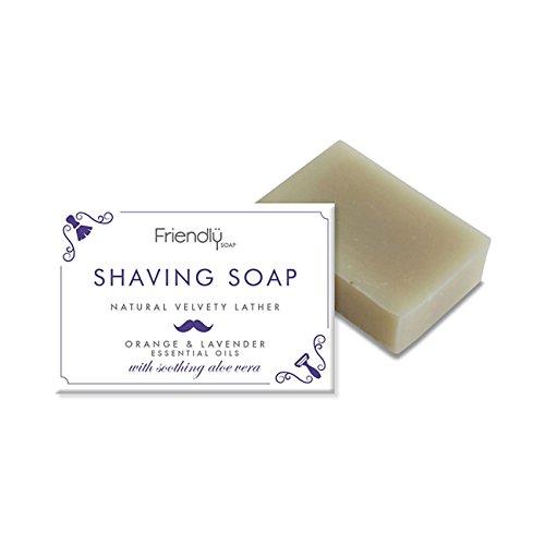 Friendly Soap Natural Handmade Shaving Soap by Friendly Soap