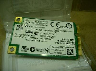 [Intel PRO/540 802.11 agn Wireless PCI-E Card 533AN_MMW] (Intel Wireless Router)