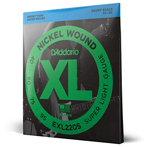 D'Addario EXL220S Nickel Wound