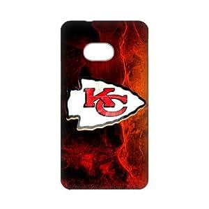 SUNNYGOOD Professional American football team Kansas City Chiefs Custom Case for HTC ONE M7 3D