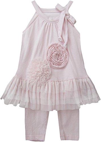 Isobella & Chloe Light Pink Sassy Ballerina 2pc Set. (18 Months)