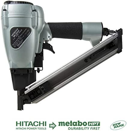 Hitachi NR38AK Positive Placement Metal Connector Nailer, 1-1 2 Nails, Strap-Tite Fastening System, 36 Degree Magazine Discontinued by the Manufacturer