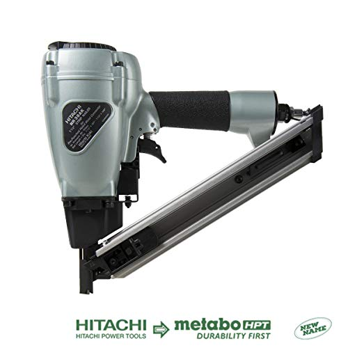 - Hitachi NR38AK Positive Placement Metal Connector Nailer, 1-1/2
