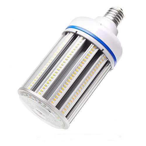 120W LED Corn cob Light Bulb,Large Mogul Base E39 LED Bulb,5000K AC110-277V,LED Replacement 600W Metal Halide HID HPS for steet Area Warehouse Parking lot High Bay Canopy shoebox Fixture (120) ()